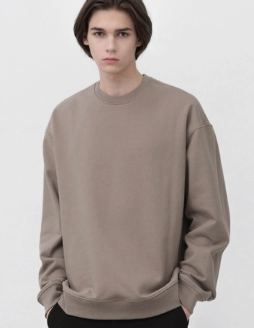 MINIMAL BLEND SWEAT-SHIRT [MOCHA]