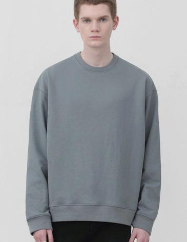MINIMAL BLEND SWEAT-SHIRT [BLUEGREY]