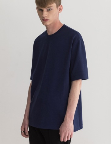 ESSENTIAL BASIC T-SHIRTS [BLUE]
