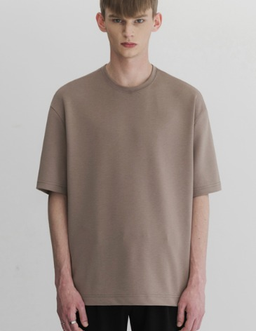ESSENTIAL BASIC T-SHIRTS [MOCHA]