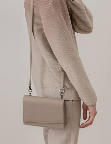 MULTI STRAP HOLSTER CROSS BAG [D.BEIGE]