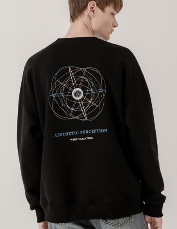 PLANET EMBO SWEAT-SHIRT [BLACK]