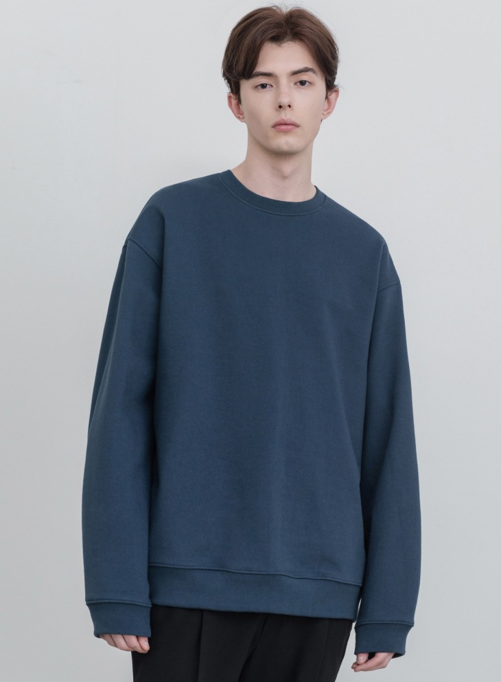 MINIMAL BLEND SWEAT-SHIRT [TURQUOISE]