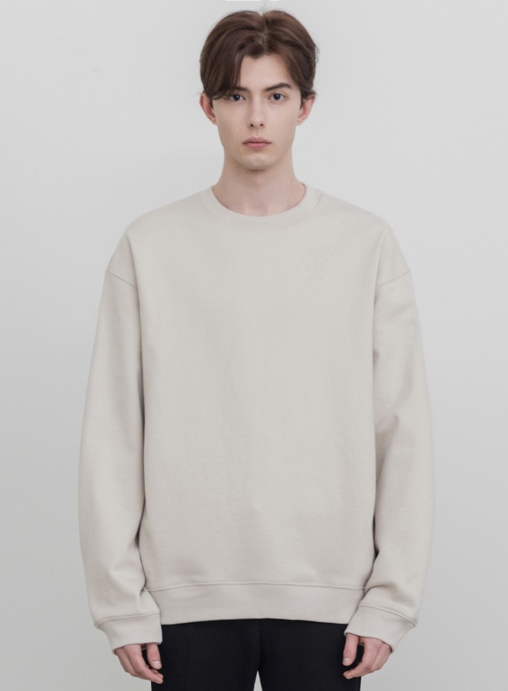 MINIMAL BLEND SWEAT-SHIRT [CLOUD CREAM]