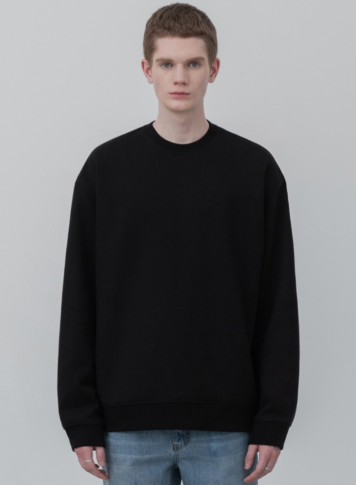 MINIMAL BLEND SWEAT-SHIRT [BLACK]