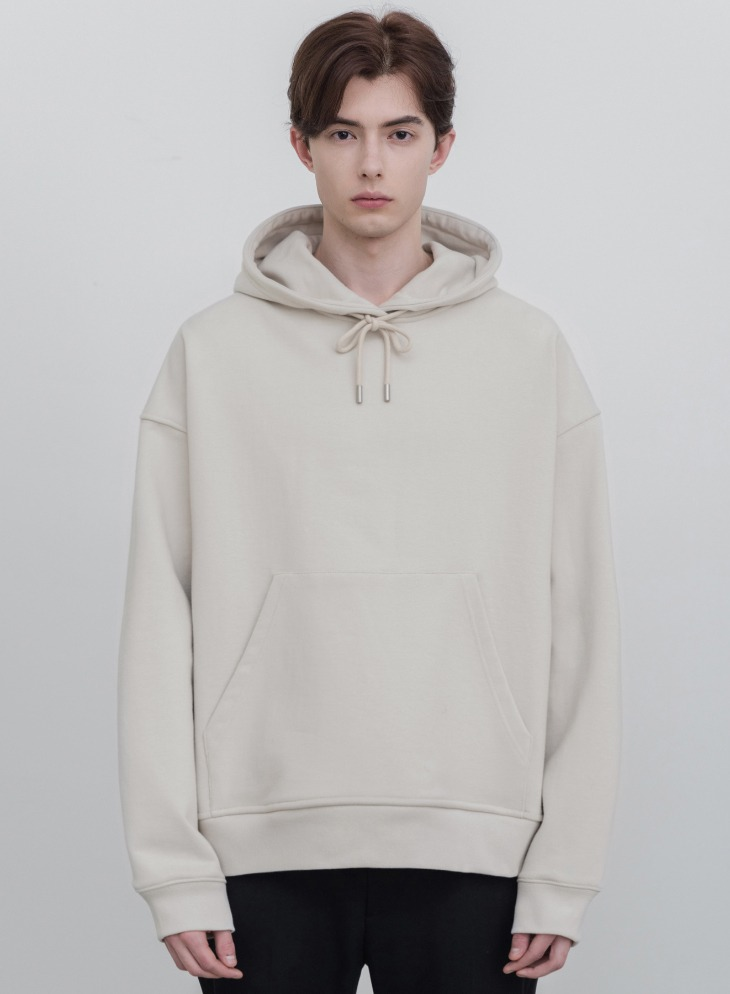 MINIMAL BLEND HOODIE T-SHIRT [CLOUD CREAM]